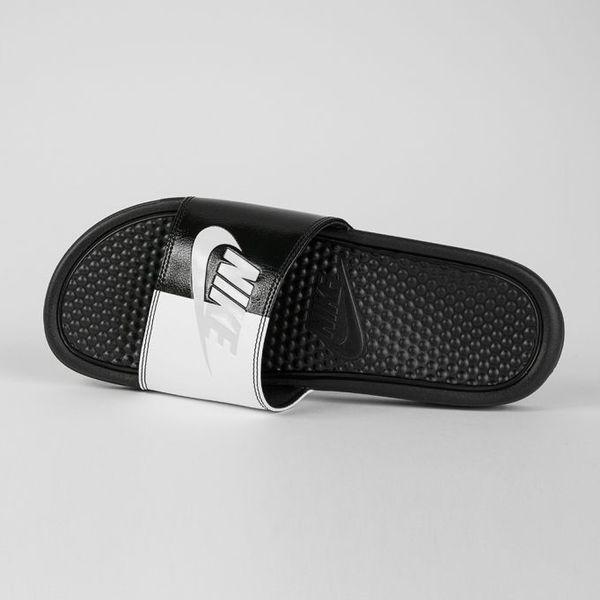 61517304 Nike Klapki męskie Benassi JDI czarno-białe r. 47 1/2 (343880 015 ...
