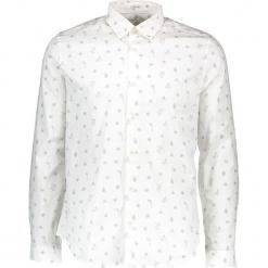 Koszula - Slim fit - w kolorze białym. Białe koszule męskie Ben Sherman, z bawełny, z klasycznym kołnierzykiem. W wyprzedaży za 152.95 zł.