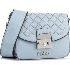 Torebka NOBO - NBAG-E0720-C012 Niebieski. Niebieskie listonoszki damskie Nobo, ze skóry ekologicznej. W wyprzedaży za 119.00 zł.