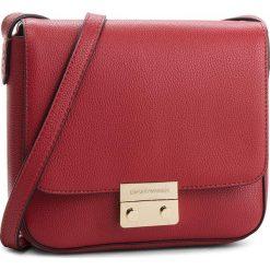 Torebka EMPORIO ARMANI -  Y3B080 YH65A 80133 Ruby Red. Czerwone listonoszki damskie Emporio Armani, ze skóry ekologicznej. W wyprzedaży za 519.00 zł.