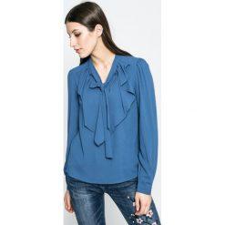 Vero Moda - Bluzka. Szare bluzki damskie Vero Moda, z elastanu, casualowe. W wyprzedaży za 79.90 zł.