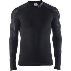 Craft Koszulka Termoaktywna Z Długim Rękawem Warm Intensity Black L. Czarne koszulki sportowe męskie Craft, z materiału, z długim rękawem. Za 245.00 zł.