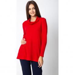Czerwona bluzka z półgolfem QUIOSQUE. Czerwone bluzki damskie QUIOSQUE, z dzianiny, klasyczne, z golfem. Za 129.99 zł.
