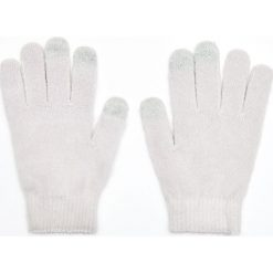 Rękawiczki do ekranów dotykowych - Jasny szary. Szare rękawiczki damskie Cropp. Za 14.99 zł.
