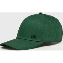 Calvin Klein - Czapka. Szare czapki i kapelusze męskie Calvin Klein. Za 119.90 zł.