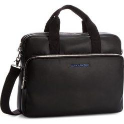 Torba na laptopa CALVIN KLEIN JEANS - Smooth Business Bag K40K400377  001. Torby na laptopa męskie Calvin Klein Jeans, z jeansu. W wyprzedaży za 489.00 zł.