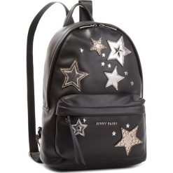 Plecak JENNY FAIRY - RC15562 Black. Czarne plecaki damskie Jenny Fairy, ze skóry ekologicznej, eleganckie. Za 119.99 zł.