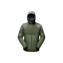 Kurtka turystyczna SH100 x-warm męska. Szare kurtki męskie QUECHUA. Za 149.99 zł.