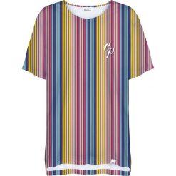 Colour Pleasure Koszulka damska CP-033 264 żółto-niebieska r. uniwersalny. Bluzki damskie Colour Pleasure. Za 76.57 zł.