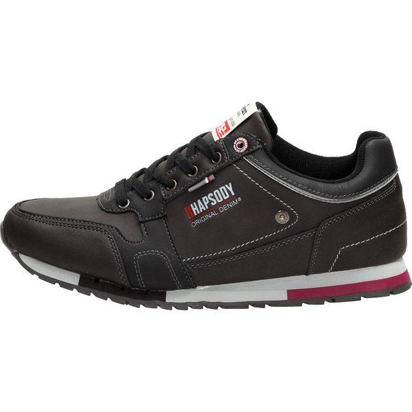 Czarne męskie buty sportowe AMERICAN CLUB RH03