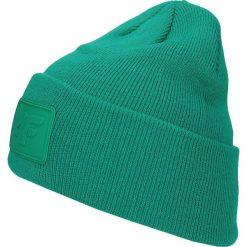 Czapka damska CAD300 - zielony. Czapki i kapelusze damskie marki WED'ZE. W wyprzedaży za 29.99 zł.
