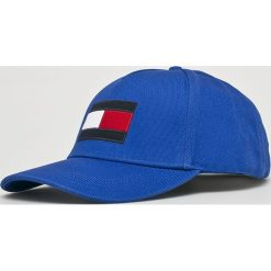 Tommy Hilfiger - Czapka. Niebieskie czapki i kapelusze męskie Tommy Hilfiger. Za 179.90 zł.