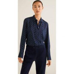 Mango - Koszula Swede2. Szare koszule damskie Mango, w paski, z tkaniny, klasyczne, z klasycznym kołnierzykiem, z długim rękawem. Za 99.90 zł.