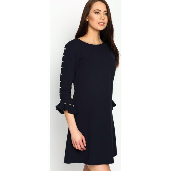 7c7fe3ec2b Granatowa Sukienka Perfect Date - Niebieskie sukienki damskie marki ...