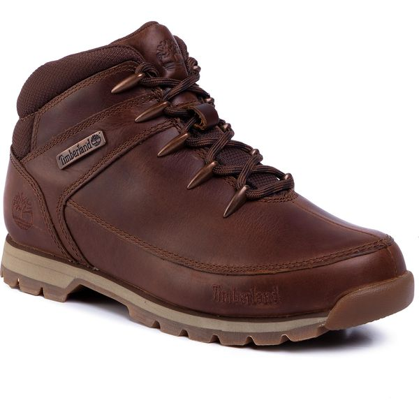 Trapery TIMBERLAND Euro Sprint Mid Hiker TB0A24AM140 Md Brown Full Grain