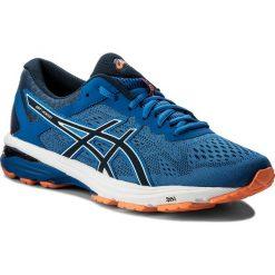 Buty ASICS - GT-1000 6 T7A4N  Victoria Blue/Dark Blue/Shocking Orange 4549. Niebieskie buty sportowe męskie Asics, z materiału. W wyprzedaży za 319.00 zł.
