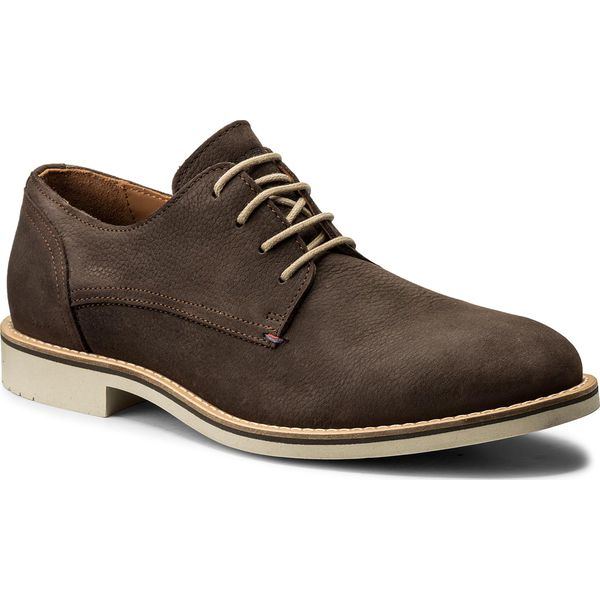 6b2cf864f08b4 Półbuty TOMMY HILFIGER - Seasonal Nubuck Lace Up Derby FM0FM01251 ...