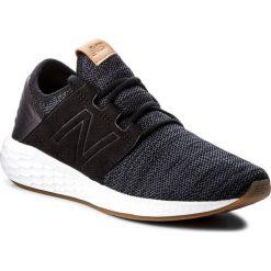 Buty NEW BALANCE - WCRUZKB2 Czarny. Czarne obuwie sportowe damskie New Balance, z materiału. W wyprzedaży za 269.00 zł.