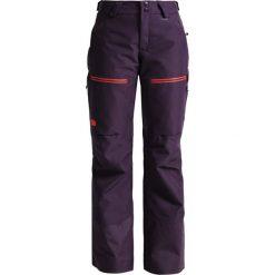 The North Face Spodnie narciarskie dark eggplant purple. Spodnie sportowe damskie The North Face, z materiału, sportowe. W wyprzedaży za 1,034.10 zł.