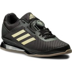 Buty adidas - Leistung 16 II CQ1769 Cblack/Magold/Cblack. Czarne buty sportowe męskie Adidas, z materiału. W wyprzedaży za 589.00 zł.