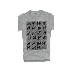 T-shirt UNDERWORLD Ring spun cotton Birth. Szare t-shirty męskie Underworld, z nadrukiem, z bawełny. Za 59.99 zł.