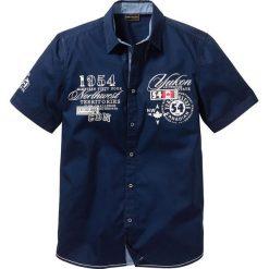 Koszula z krótkim rękawem bonprix ciemnoniebieski. Koszule męskie marki Giacomo Conti. Za 54.99 zł.