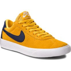 size 40 d8c6a d0e0c Buty NIKE - Sb Bruin Low AJ1440 700 Yellow Ochre Blue Void White.