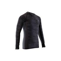Bluzka długi rękaw do biegania Kiprun SKINCARE męska. Czarne bluzki z długim rękawem męskie KALENJI. Za 69.99 zł.