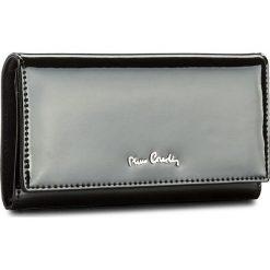 Duży Portfel Damski PIERRE CARDIN - 05 LINE 114  Black 19245. Czarne portfele damskie Pierre Cardin, z lakierowanej skóry. Za 129.00 zł.