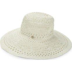 Kapelusz LIU JO - Cappello Tesa Larga N18287 T0300 Soia 21404. Białe czapki i kapelusze damskie Liu Jo, z tworzywa sztucznego. W wyprzedaży za 219.00 zł.