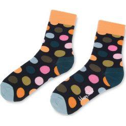 Skarpety Wysokie Unisex HAPPY SOCKS - BDO01-6006 Granatowy Kolorowy. Niebieskie skarpety męskie Happy Socks, w kolorowe wzory, z bawełny. Za 34.90 zł.