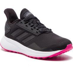 Buty adidas - Duramo 9 F34665 Cblack/Cblack/Shopnk. Czarne obuwie sportowe damskie Adidas, z materiału. Za 229.00 zł.