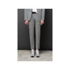 Spodnie w kant GEOMETRIC PRINT. Eleganckie spodnie męskie marki Giacomo Conti. Za 300.00 zł.