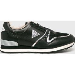 Guess Jeans - Buty. Czarne buty sportowe męskie Guess Jeans, z gumy. Za 439.90 zł.