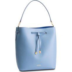Torebka LAUREN RALPH LAUREN - Dryden 431697679012 Medium Blue Mist/Cosmic Blue. Niebieskie torebki do ręki damskie Lauren Ralph Lauren, ze skóry. Za 1,209.00 zł.