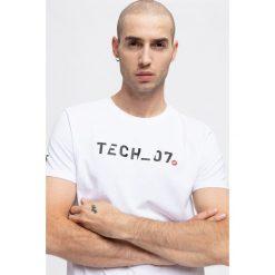 T-shirt męski TSM291 - biały. T-shirty męskie marki Giacomo Conti. W wyprzedaży za 29.99 zł.