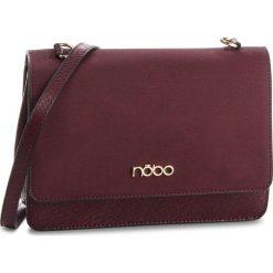 Torebka NOBO - NBAG-F2270-C005 Bordowy. Czerwone torebki do ręki damskie Nobo, ze skóry ekologicznej. W wyprzedaży za 219.00 zł.