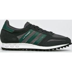 Adidas Originals - Buty La Trainer. Czarne buty sportowe męskie adidas Originals. W wyprzedaży za 399.90 zł.