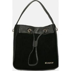 Czarna torebka na ramię. Czarne torby na ramię damskie Kazar. Za 749.00 zł.