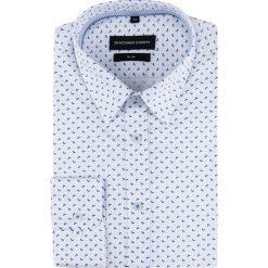 Koszula SIMONE KDWS000491. Białe koszule męskie Giacomo Conti, z bawełny, z klasycznym kołnierzykiem, z długim rękawem. Za 199.00 zł.
