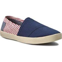 Półbuty TOMS - Avalon 10007923 Americana Canvas Flag. Niebieskie półbuty na co dzień męskie Toms, z materiału. W wyprzedaży za 179.00 zł.