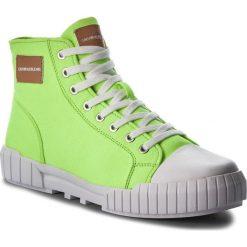 Trampki CALVIN KLEIN JEANS - Biagio S1753  Chemical Yellow. Zielone trampki męskie Calvin Klein Jeans, z gumy. Za 569.00 zł.
