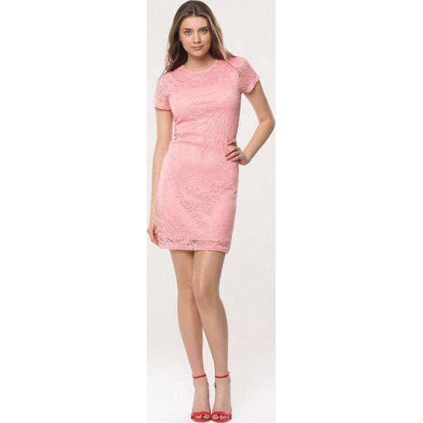 3f195c38b8 Różowa Sukienka Loose Fitting - Sukienki dla dziewczynek marki ...