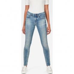 G-Star Raw - Jeansy 3301. Niebieskie jeansy damskie G-Star Raw. W wyprzedaży za 379.90 zł.