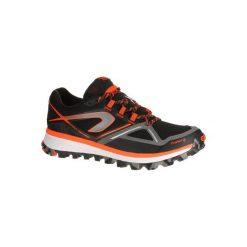 Buty do biegania KIPRUN TRAIL MT męskie. Czarne buty sportowe męskie KALENJI, z gumy. W wyprzedaży za 219.99 zł.