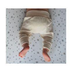 Spodnie pumpy Basic naturalne r. 56 (NK-090/01). Szare spodenki niemowlęce Nanaf Organic. Za 37.12 zł.