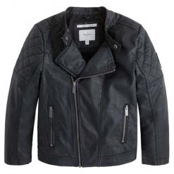 Kurtka w kolorze czarnym. Czarne kurtki i płaszcze dla chłopców Pepe Jeans. W wyprzedaży za 199.95 zł.