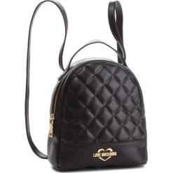 Plecak LOVE MOSCHINO - JC4206PP06KA000A  Gal. Oro. Czarne plecaki damskie Love Moschino, ze skóry ekologicznej. Za 679.00 zł.