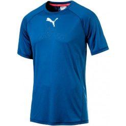 Puma Koszulka Sportowa Vent Ss Tee Lapis Blue M. Niebieskie t-shirty i topy dla dziewczynek Puma, z materiału. W wyprzedaży za 109.00 zł.