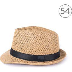 Art of Polo kapelusz unisex Klasyczny trilby na lato brązowo-czarny r. 54. Czapki i kapelusze męskie Art of Polo. Za 23.67 zł.